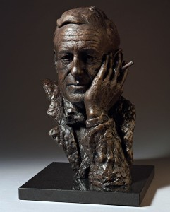 Ian-Fleming-bronze-bust-by-sculptor-Anthony-Smith
